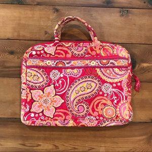 Vera Bradley Raspberry Fizz Laptop Bag Case